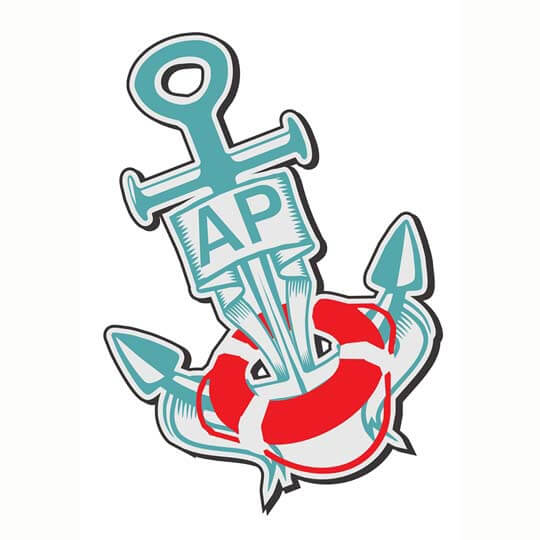 Design logo-AP
