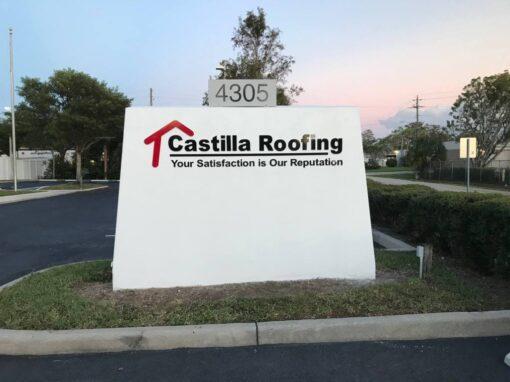 Custom Monument Signs- castilla -Outdoor signs