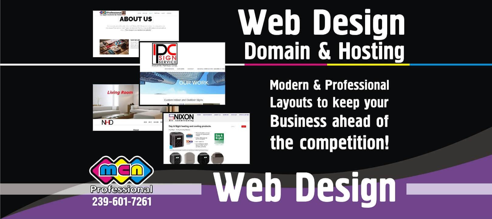 D Web Design domain Hosting