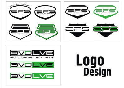 Design Logo evolve efs