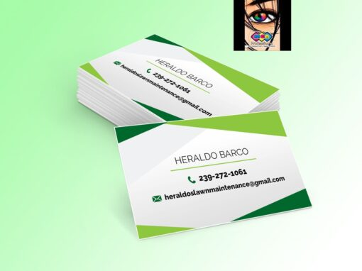 Business Cards Heraldo