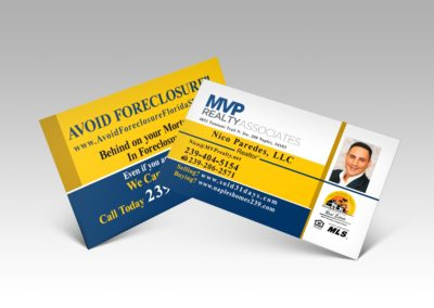 Real State Custom Business Cards Naples Fl For Realtors And Property Agents – Mvp Realty