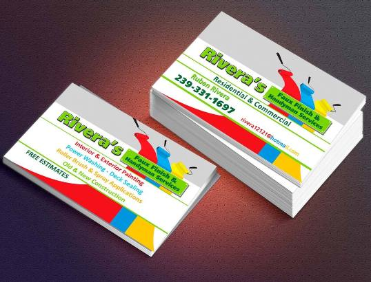 Business Cards Rivera