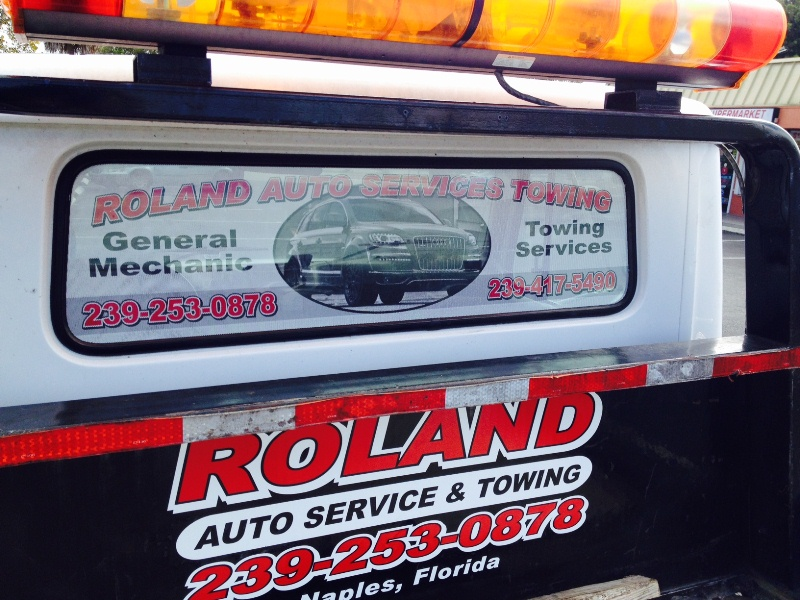 Vehicle Graphic Naples FL-roland