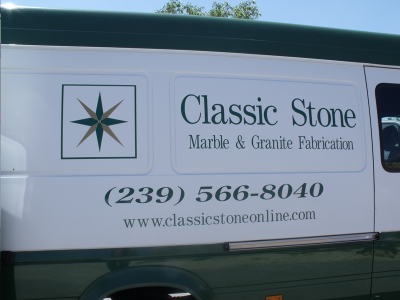 Vehicle Graphic Naples FL-classic