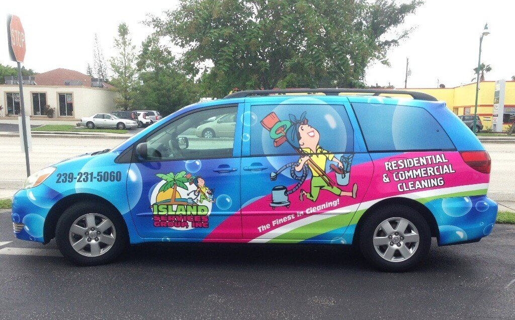 Vehicle Wraps island t