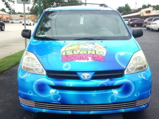 Island Vehicle Wraps