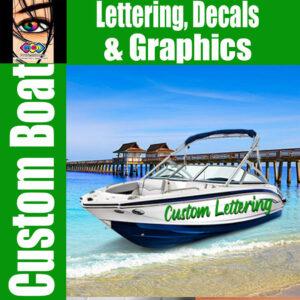 lettering boat