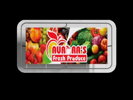 Custom Business Vinyl Banner Aurora Fresh