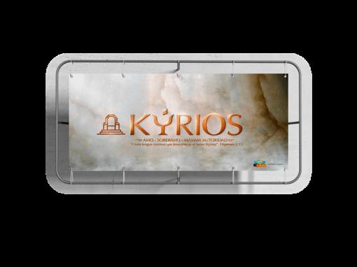 Custom Business Vinyl Banner Kyrios