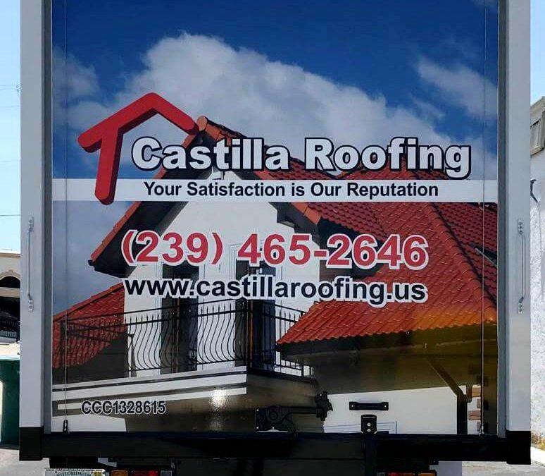 Castilla Roofing Truck Wraps