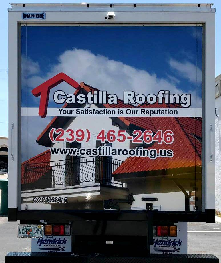 truck-wrap-castilla-roofing-new-location 2